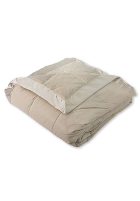 Sunflower Down Blanket, Khaki Color