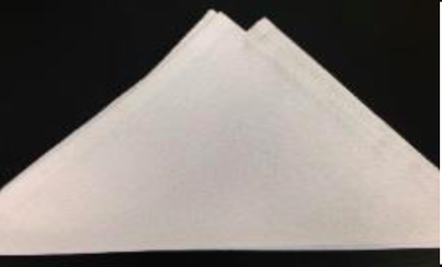 Poly White Solid Napkin